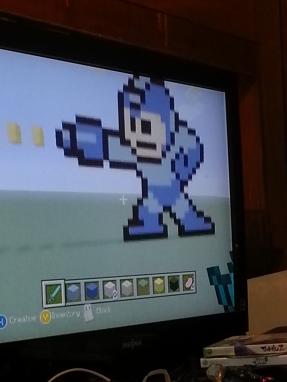 My son is creative