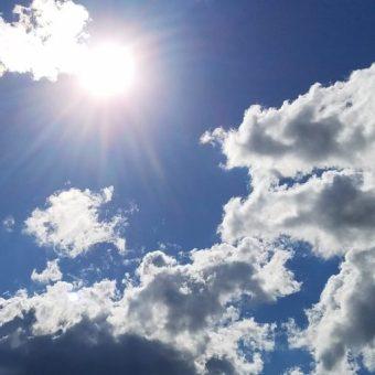 The beautiful sun