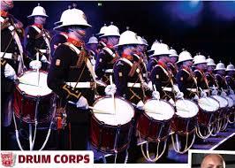 marchingbanddrummersatnight